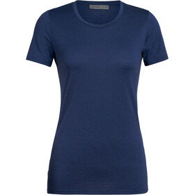 Icebreaker Tech Lite SS Low Crewe Top Women estate blue